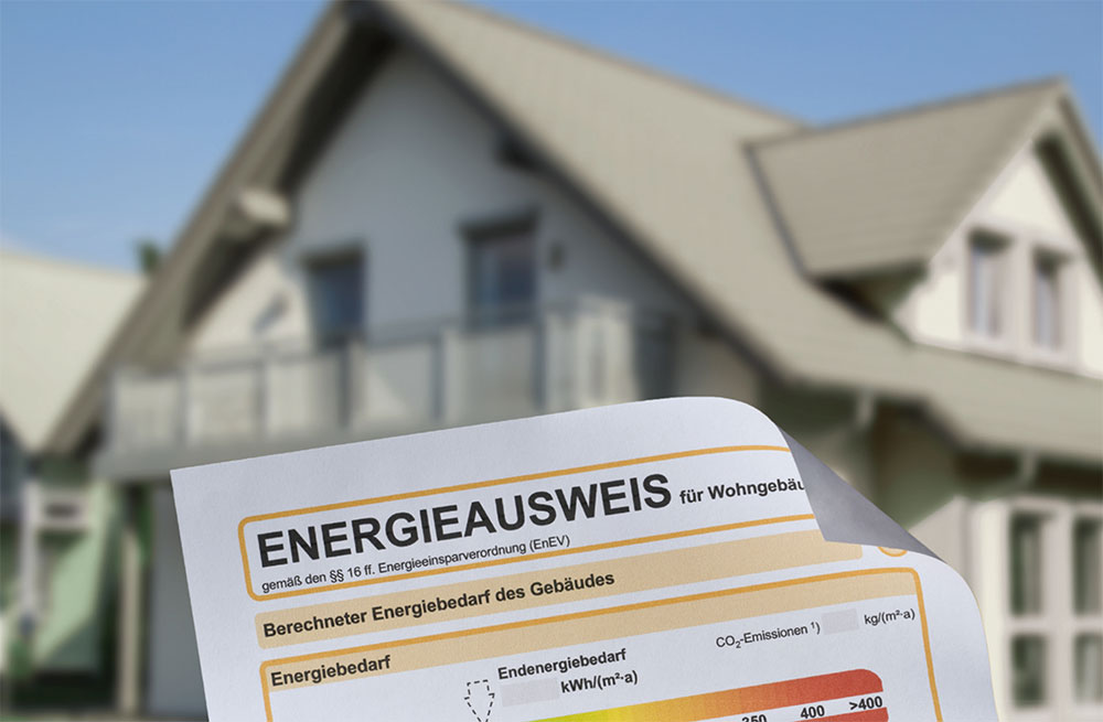 Gebäude Energieverbrauchsausweis